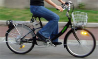 Le VAE ou Vélo à Assistance Electrique (photo http://veloelectrique.free.fr)